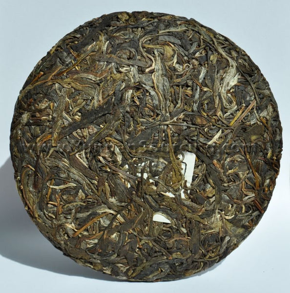 "2010 Yunnan Sourcing ""Ding Jia Zhai"" Autumn Harvest Yi Wu Pu-erh Tea Cake - Yunnan Sourcing Tea Shop"