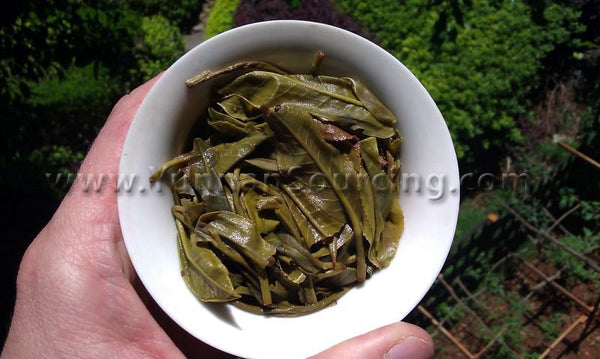 "2011 Yunnan Sourcing ""Mu Shu Cha"" Ancient Arbor Raw Pu-erh Tea Cake"