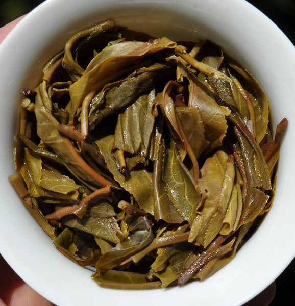 "2011 Yunnan Sourcing ""Autumn Xi Bang"" Raw Pu-erh Tea Cake"