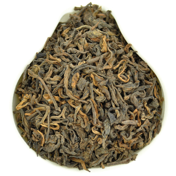 "8 Years Aged ""Menghai Grade 3"" Ripe Loose Leaf Pu-erh Tea"