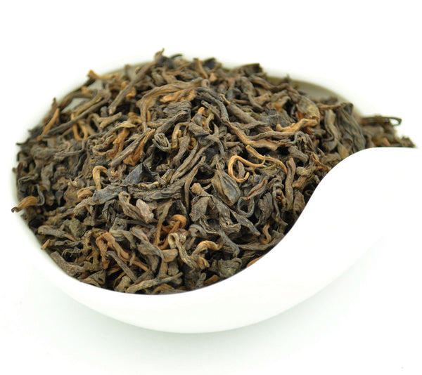 "5 Years Aged ""Menghai Grade 3"" Ripe Loose Leaf Pu-erh Tea"