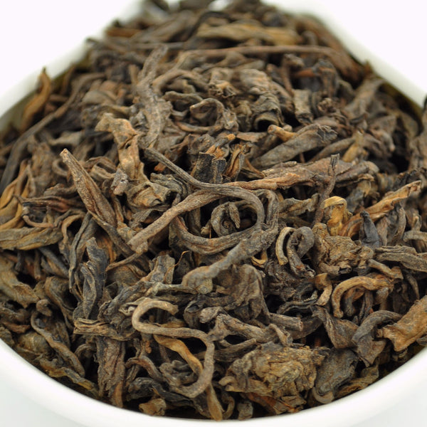 "5 Years Aged ""Mang Fei Mountain"" Ripe Loose Leaf Pu-erh Tea"