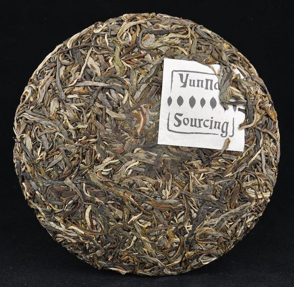 "2012 Yunnan Sourcing ""Autumn Mu Shu Cha"" Raw Pu-erh Tea Cake"