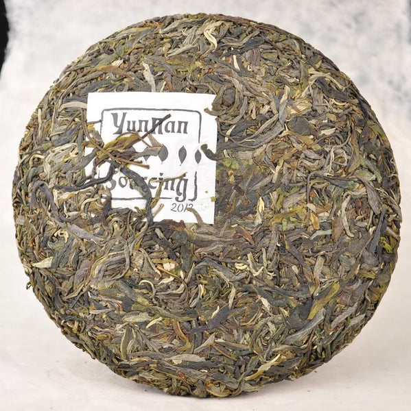 "2012 Yunnan Sourcing ""Wu Liang Mountain"" Wild Arbor Raw Pu-erh Tea Cake"