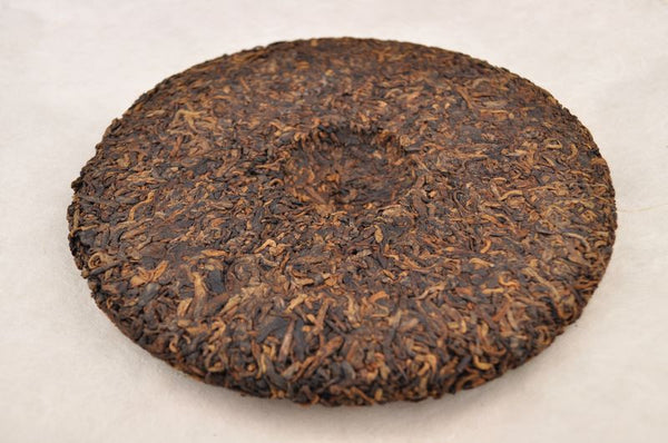 "2012 Yunnan Sourcing ""Yong De Blue Label"" Ripe Pu-erh Tea Cake"