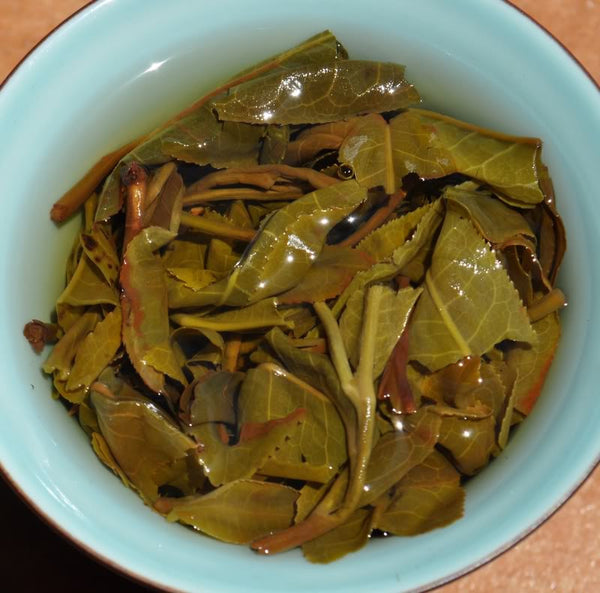 "2012 Yunnan Sourcing ""Early Spring Yi Wu"" Raw Pu-erh Tea Cake"