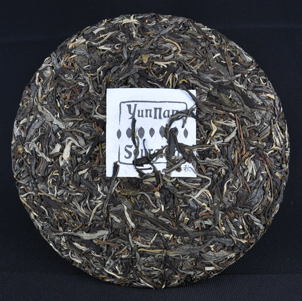 2014 Yunnan Sourcing Autumn Ku Zhu Shan Raw Pu-erh Tea Cake