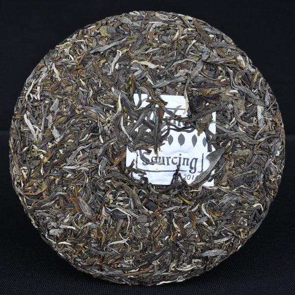"2014 Yunnan Sourcing ""Autumn Mu Shu Cha"" Old Arbor Raw Pu-erh Tea Cake"