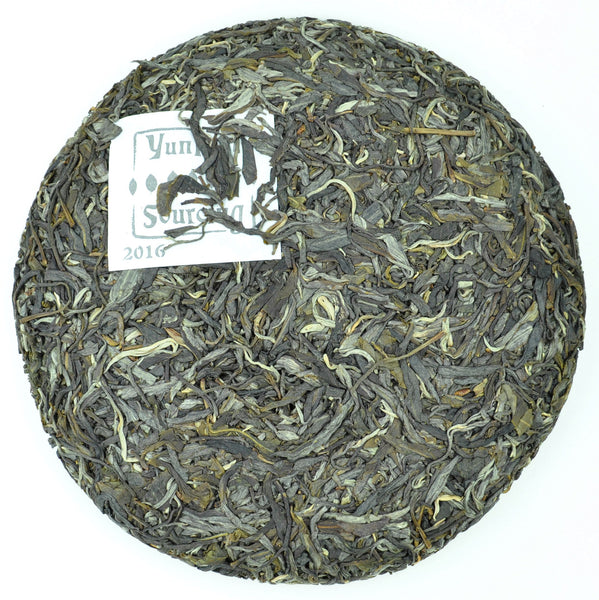"2016 Yunnan Sourcing ""Mang Fei Mountain"" Wild Arbor Raw Pu-erh Tea cake"