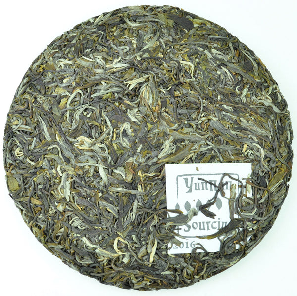 2016 Yunnan Sourcing Wu Liang Mountain Wild Arbor Raw Pu-erh Tea Cake