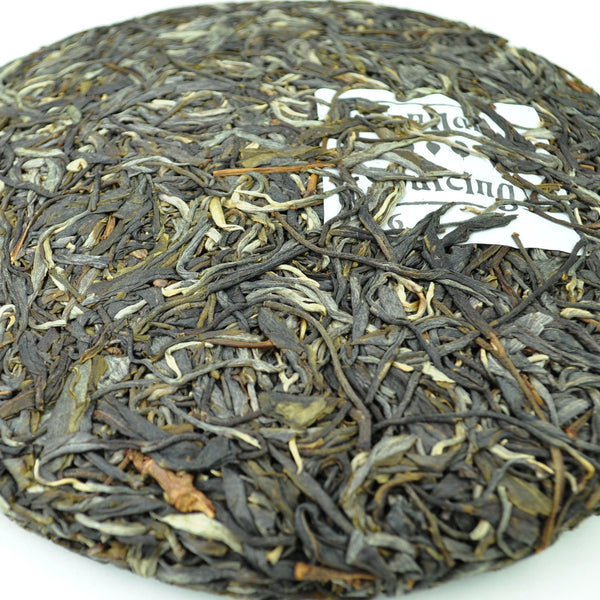 "2016 Yunnan Sourcing ""Xiao Hu Sai Village"" Raw Pu-erh Tea Cake"