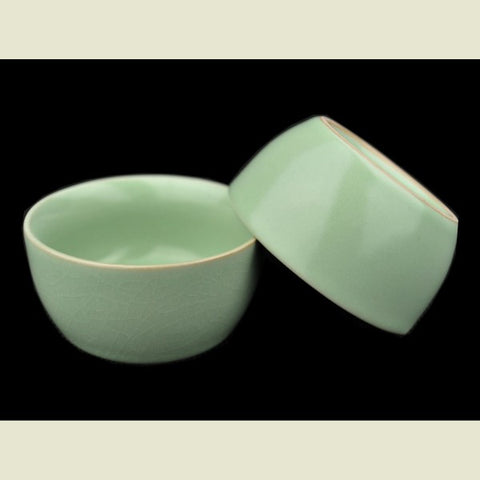 "Ru Yao Celadon ""Round"" Set of 2 Cups * 55ml each"