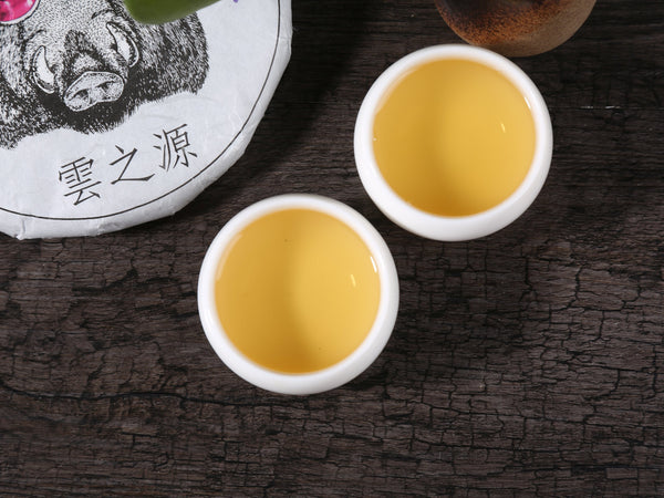 "2019 Yunnan Sourcing ""Mo Lie Shan"" Raw Pu-erh Tea Cake"