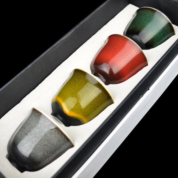 The Four Seasons Cup Set in Gift Box * Set of 4 Cups