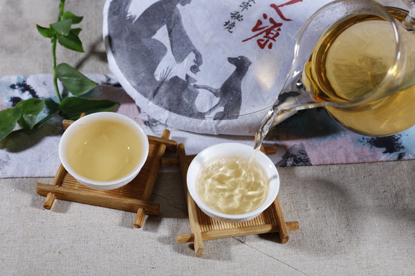 "2018 Yunnan Sourcing ""Ai Lao Secret Garden"" Old Arbor Raw Pu-erh Tea Cake"