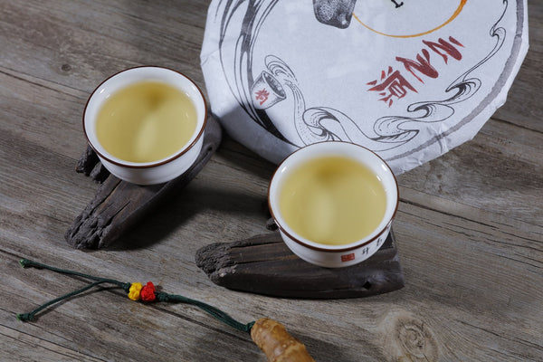 "2018 Yunnan Sourcing ""Big Snow Mountain"" Old Arbor Raw Pu-erh Tea Cake"