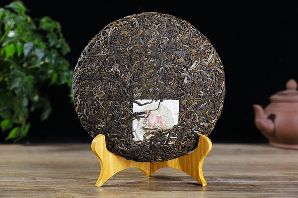 "2018 Yunnan Sourcing ""Guardian"" Blended Raw Pu-erh Tea Cake"