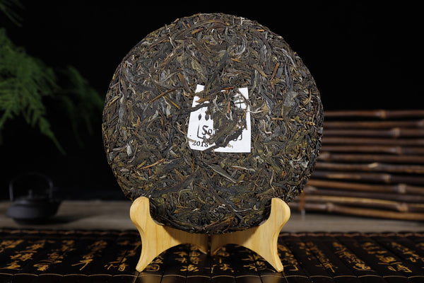 "2018 Yunnan Sourcing ""Bang Dong Village"" Raw Pu-erh Tea Cake"