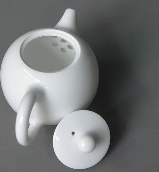 Jingdezhen Steam Kiln Teapot Made from Pure White Porcelain * 135ml