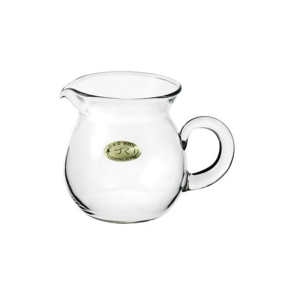 Clear Glass Gong Fu Cha Hai Serving Pitcher 250ml