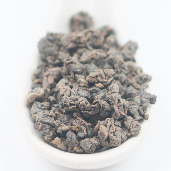 "Alishan ""Ink Jade"" Dark Roasted GABA Oolong Tea - Winter 2017"