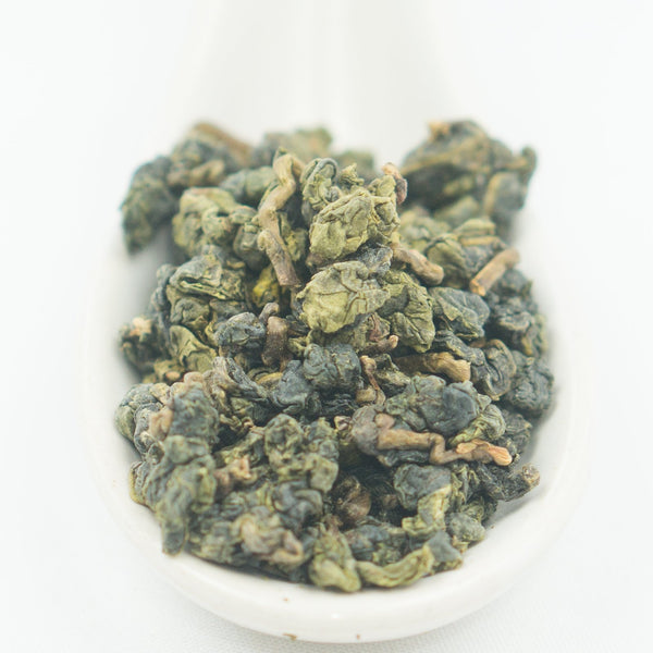 "Shanlinxi Organic ""Turquoise Dew"" Oolong Tea - Spring 2018"