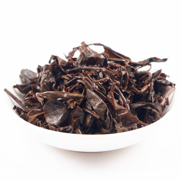 "Yuli Organic Big Leaf ""Dark Perfume"" Bug Bitten Red Oolong Tea - Winter 2020"