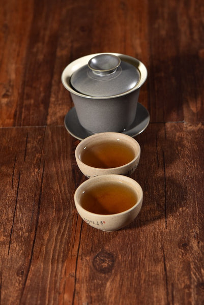 Bluestone Glazed Gaiwan for Gong Fu Tea Brewing * 170ml
