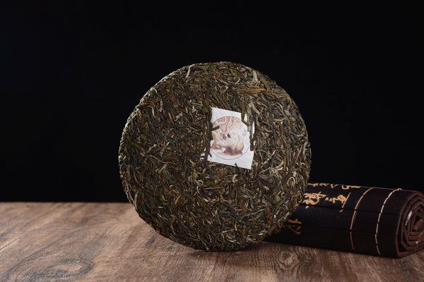 "2019 Yunnan Sourcing ""Autumn Na Han Village"" Raw Pu-erh Tea Cake"