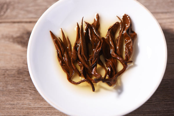 "Yunnan ""Black Gold Bi Luo Chun"" Black Tea"