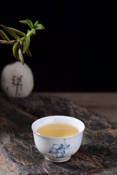 "2019 Yunnan Sourcing ""He Tao Di Village"" Raw Pu-erh Tea Cake"