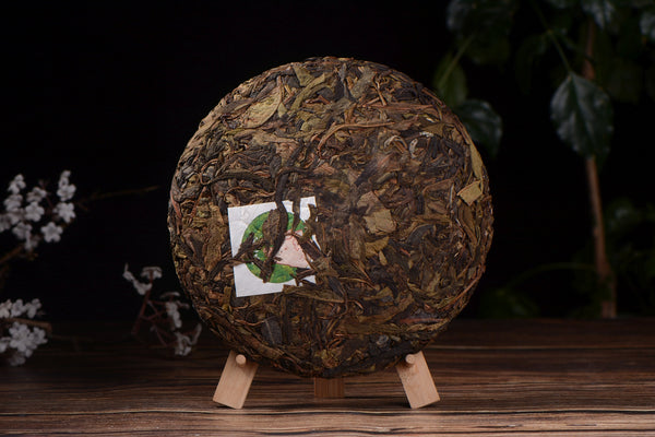 "2019 Yunnan Sourcing ""Spring Morning"" Raw Pu-erh Tea Cake"