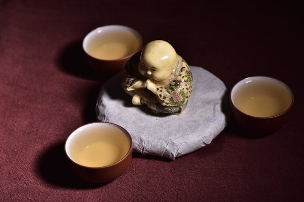 Imperial Grade Yue Guang Bai White Tea Mini Cake