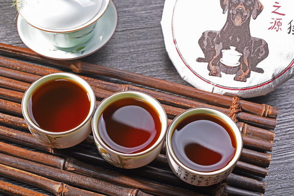 "2018 Yunnan Sourcing ""Queen of Yi Wu"" Ripe Pu-erh Tea Cake"