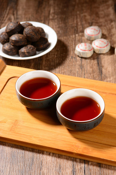 Mang Fei Mountain Ripe Pu-erh Tea Mini Tuo