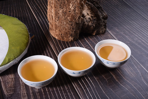 "2018 Yunnan Sourcing ""Autumn Gu Shu Bai Cha"" Old Arbor Raw Pu-erh Tea Cake"