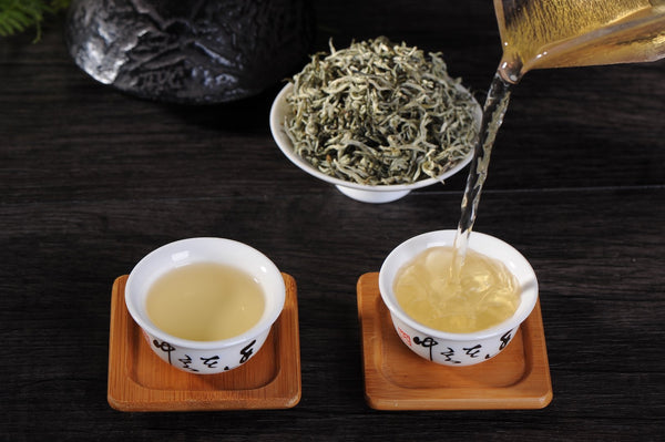 "Yunnan ""Pure Bud Silver Strands"" First Flush Green Tea"