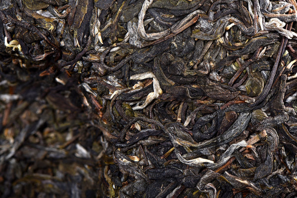 "2018 Yunnan Sourcing ""Autumn Bang Dong Zi Cha"" Purple Raw Pu-erh Tea Cake"