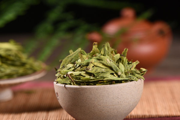 Imperial Dragon Well Tea From Hangzhou * Long Jing Tea