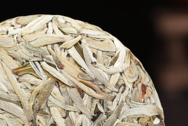 Jinggu Sun-Dried Silver Needles White Pu-erh Tea Cake * Spring 2020