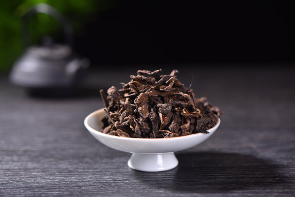 1999 Basket Aged Loose Leaf Ripe Pu-erh Tea from Menghai
