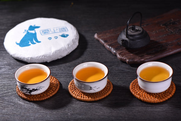 "2018 Yunnan Sourcing ""Buddy"" Raw Pu-erh Tea Cake"