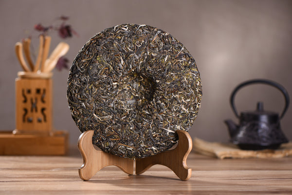"2016 Yunnan Sourcing ""Autumn Na Han Village"" Raw Pu-erh tea cake"