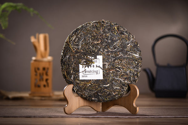"2016 Yunnan Sourcing ""Autumn Bang Dong Village"" Raw Pu-erh Tea Cake"