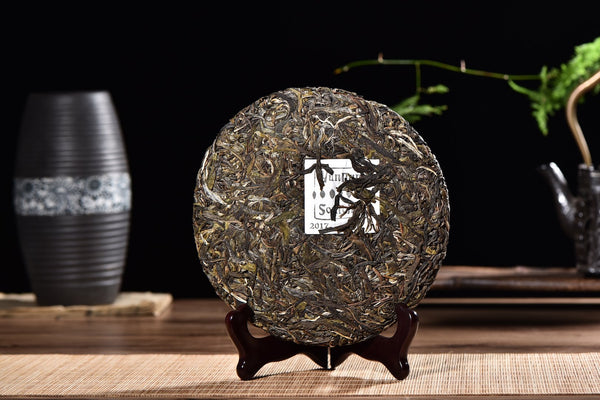 "2017 Yunnan Sourcing ""Autumn Nan Po Zhai"" Ancient Arbor Raw Pu-erh Tea Cake"