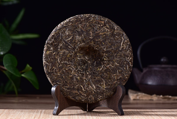 "2017 Yunnan Sourcing ""Nuo Wu Village"" Raw Pu-erh Tea Cake"