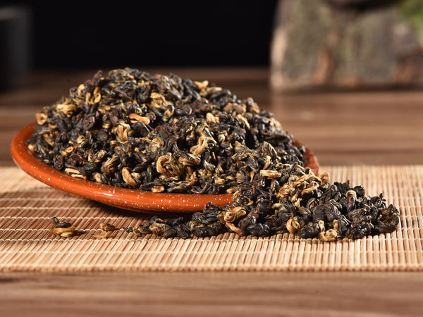 "Certified Organic ""Yunnan Golden Snail"" Black Tea"