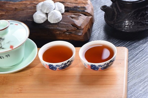 14 Years Aged Menghai Ripe Pu-erh Tea Mini Tuo Cha