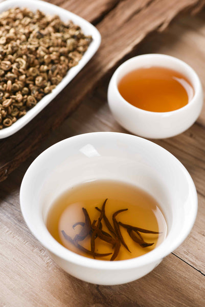Imperial Pure Gold Bi Luo Chun Black Tea of Feng Qing