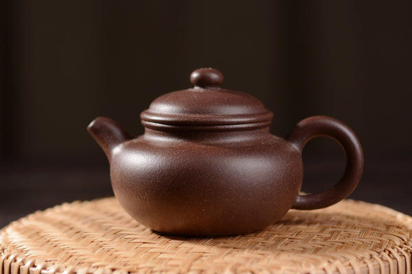"Hei Jin Gang Clay ""Fang Gu"" Yixing Teapot * 110ml"